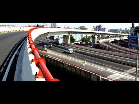Dhaka City Flyover  View | Street View | Dhaka Travel | Visit Bangladesh