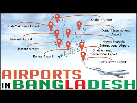 AIRPORTS IN BANGLADESH – Travel Info