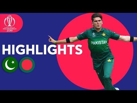 Shaheen Gets CWC Record Figures! | Pakistan vs Bangladesh – Highlights | ICC Cricket World Cup 2019