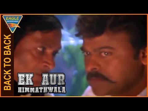 Ek Aur Himmathwala Hindi Dubbed Movie || Back To Back Comedy Scenes || Eagle Hindi Movies