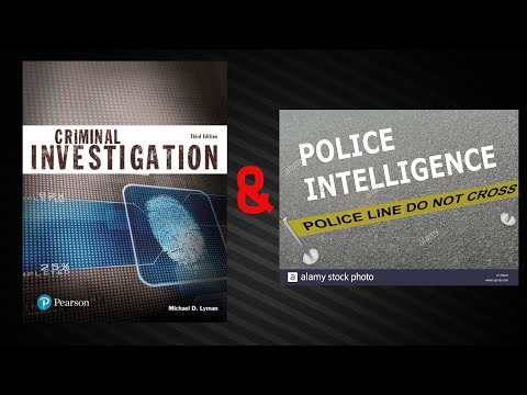 CDIN 1 – Fundamentals of Criminal Investigation (Chapter 1)