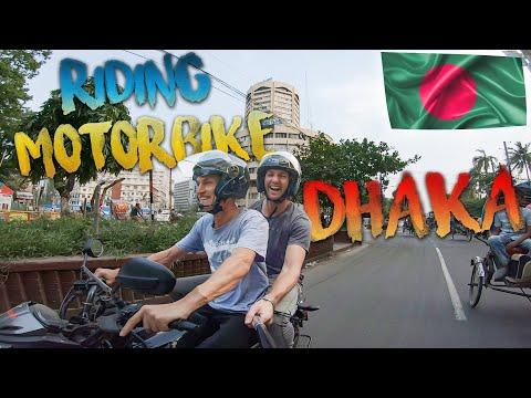 Riding a Motorbike in Bangladesh Dhaka 🇧🇩