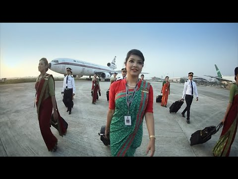 Safety Video Biman Bangladesh Airlines @Travel Sky