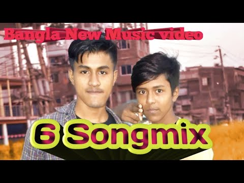 6 Songmix music  Bangla Love Music video 2020 Masud Rana