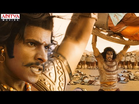 Abhimanyu (Nikhil Kumar) War Scene | Kurukshetra (2021) Hindi Dubbed Movie| Darshan, Sonu Sood