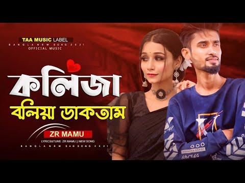 কলিজা বলিয়া ডাকতাম | Koliza Boliya Daktam | ZR MAMU | New Bangla Music Video 2021 | New Song 2021