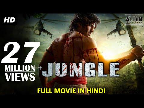 JUNGLE Full Movie Hindi Dubbed   Superhit Blockbuster Hindi Dubbed Full Action Movie   South Movie