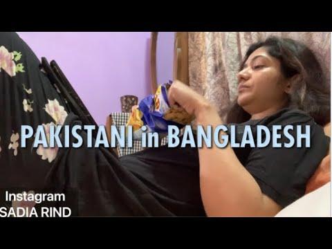 🇧🇩🇵🇰 QUARANTINE 1st day in BANGLADESH | SADIA RIND