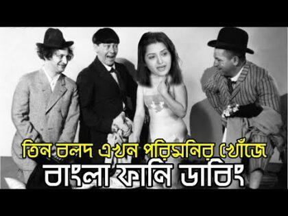 Three Stooges looking for a Porimoni | Bangla Funny Dubbing | Bangla Funny Video | Khamoka tv