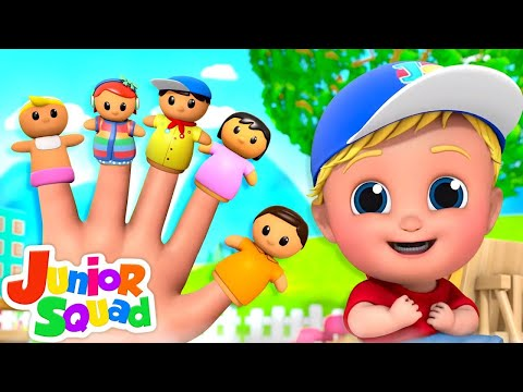 Finger Family   Five Little Babies + More Nursery Rhymes & Baby Songs   Funny Cartoon for Kids
