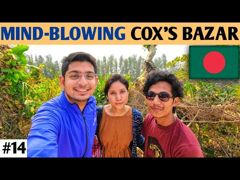 COX'S BAZAR BANGLADESH    THE LONGEST BEACH IN THE WORLD (INDIAN IN BANGLADESH VLOG 🇮🇳🇧🇩)