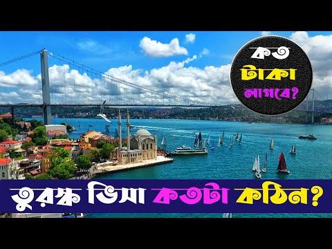 Turkey Visa Process from Bangladesh | কিভাবে করবেন তুরস্কের ভিসা? | Dhaka to Istanbul tour